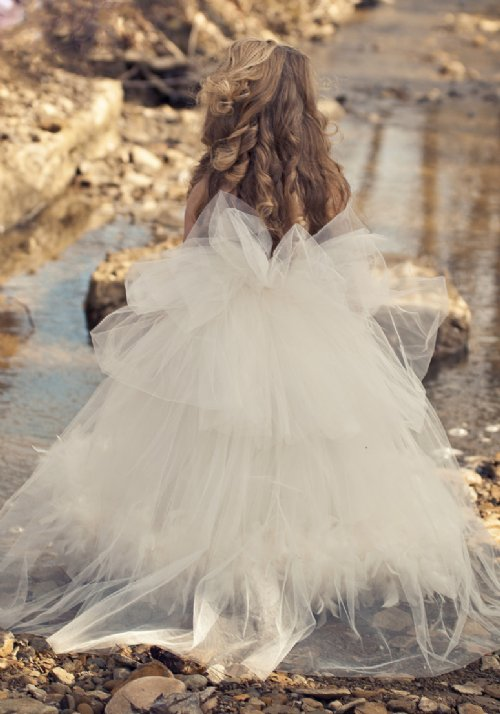 Couture Dreamy Flower Girl Dress