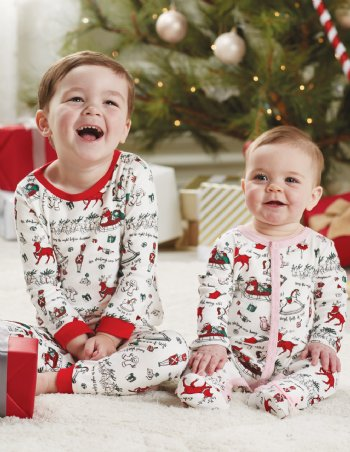 very merry red pajama set9 months to 2t only - Toddler Christmas Pajamas
