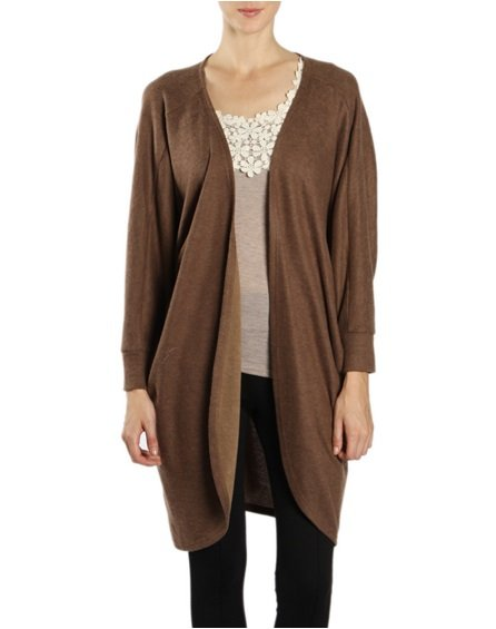 Womens Brown Cardigan 87