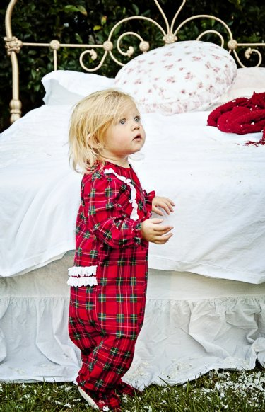 Christmas Plaid Footie Sleeper<br>Now In Stock ...