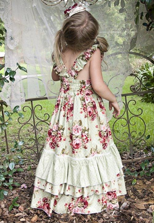 Платья в стиле шебби шик