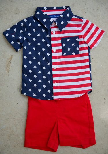 Fourth of July Childrens Clothing Girls Fourth of July Dress 4th
