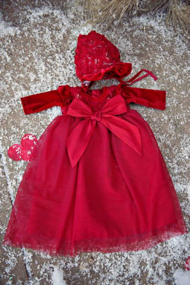 Pictures of beautiful dresses infant christmas dress