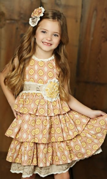 272c4a7776e Mustard Pie 2018 Sweet Pea Clara Dress BR 3T to 5 Years ONLY