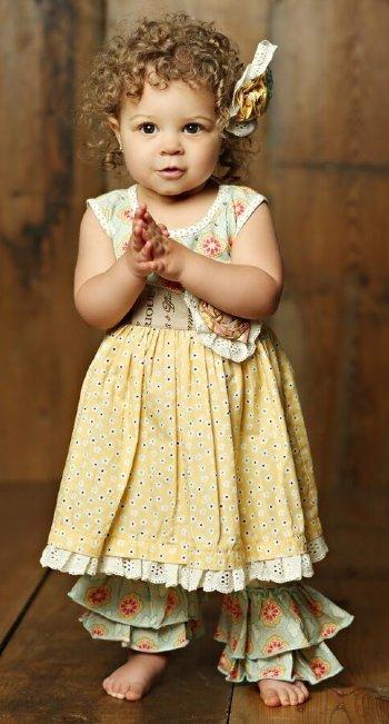 80166dfeceb Mustard Pie 2018 Sweet Pea Emma Dress Set BR 6 Months to 5 Years