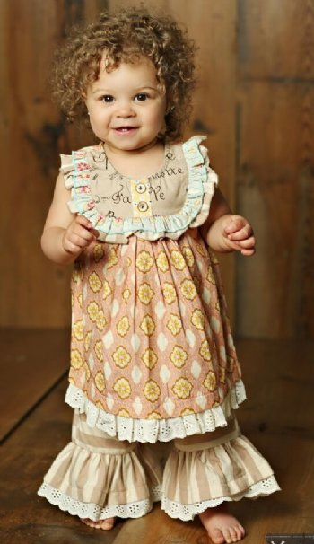 a0a76d7abac Mustard Pie 2018 Sweet Pea Baby Layla Set BR 6 Months to 6X