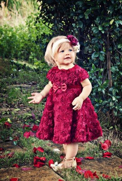 Children S Christmas Clothing Girls Christmas Dresses