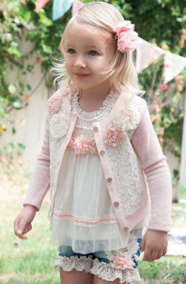 Baby Doll Vintage Pink Shorts<br>12 Months to 6X<BR>Now in Stock