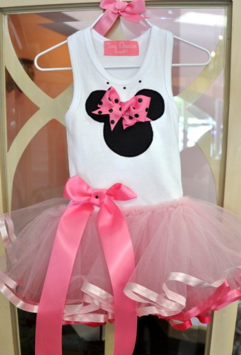 Minnie Decoraciones Fiestas Infantiles ~ Girls Minnie Mouse Tutu Dress Personalize It! Available in 6 Months or