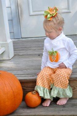 children s pumpkin patch clothing thanksgiving 3 set