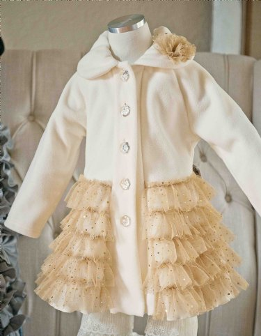 Golden Ballerina Sparkle Coat 12 Months to 5 Years Now in Stock - 3 to 24 Months