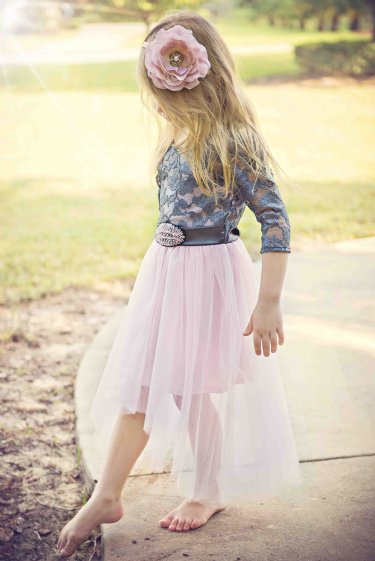 Little Lady Ballerina Lace Tween Dress<BR>7 to 16 Years<BR>Now in Stock
