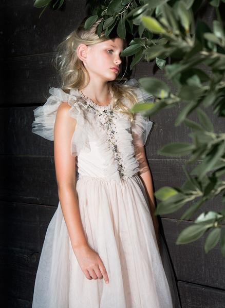 tutu du monde golden suncup tutu dress preorder flower girl dresses. Black Bedroom Furniture Sets. Home Design Ideas