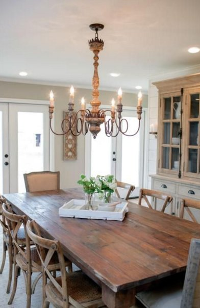 Park Hill French Farmhouse Charlotte Chandelier As Seen On