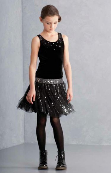 Tween navy velvet and sequin holiday dress 16 years only