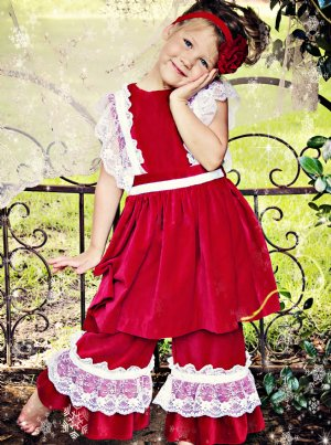 Children S Christmas Clothing Girls Christmas Dresses