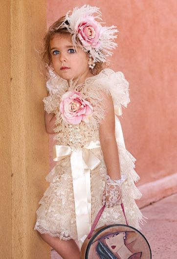 Couture Shabby Chic So Pretty Spring Frock