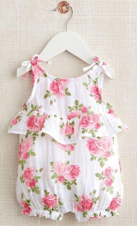 426f55b4509 Muslin Rose Bubble Newborn to 18 Months Now in Stock
