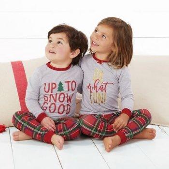 tartan christmas girls christmas pajamas preorderbrother set also available - Mud Pie Christmas Pajamas