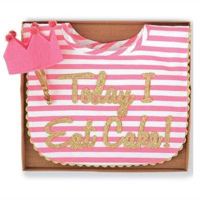Pink Gold Sparkle Birthday Cake Smash