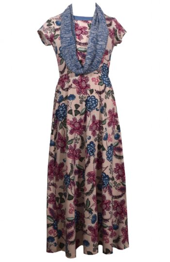 bc4e208d101 Tween Floral Maxi w  Infinity Scarf Preorder BR 7 to 16 Years ...