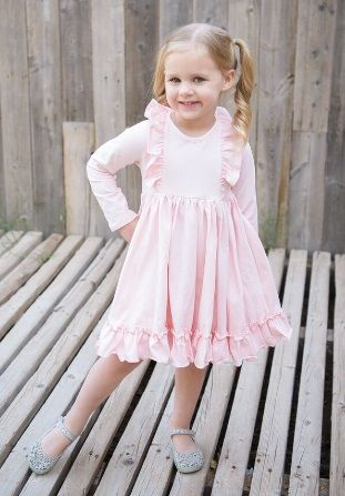 56e6ccdd5 Pink Bella Swing Dress<BR>7 to 10 Years ...