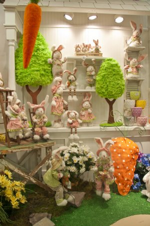 Easter Decorations Table Settings Baskets Bunny Plush Toys Dresses And Outfits