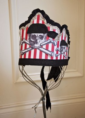 Pirate Birthday Hat Pin It
