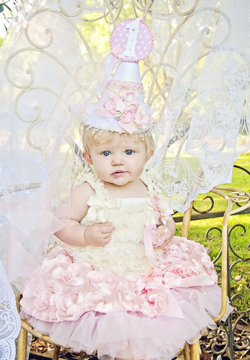 Shabby Chic Pink Princess Birthday CollectionbrWow Stunning For Photos