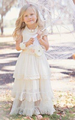 03db28888a18 Girls Communion Dresses and Girls White Flower Girl Dresses at ...