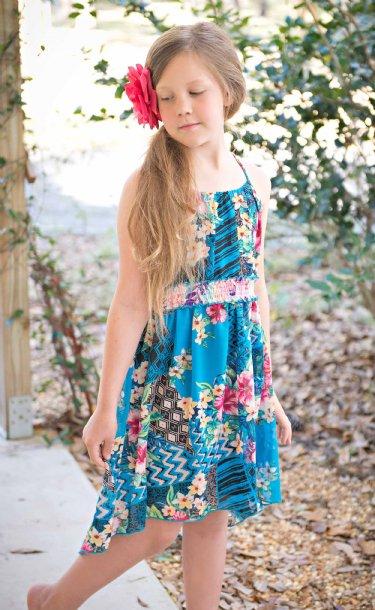 Tween Hawaiian Luau Dress 7 8 Amp 12 Years Only