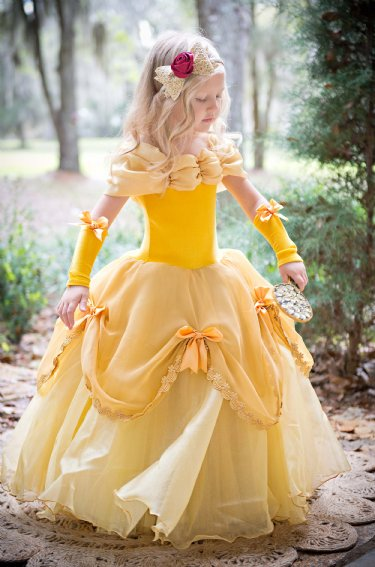 Couture Princess Belle Gown Now In Stock