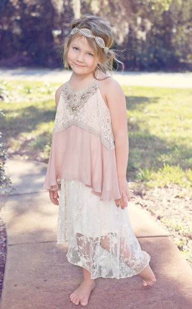 Tween High Low Lace Skirt 7 10 Amp 12 Years Only