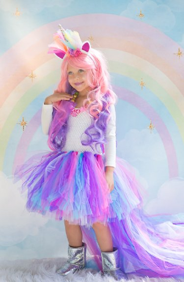 Rainbow Unicorn Tutu Dress Now In Stock