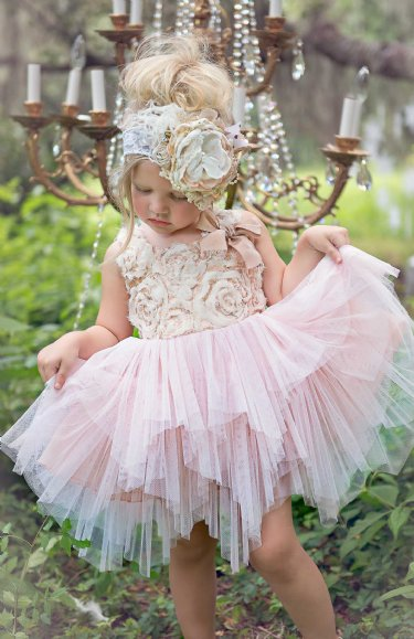 Winter Ballet Petal Tulle Gown Now In Stock