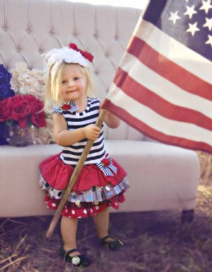 Fourth Of July Children S Clothing Girls Fourth Of July