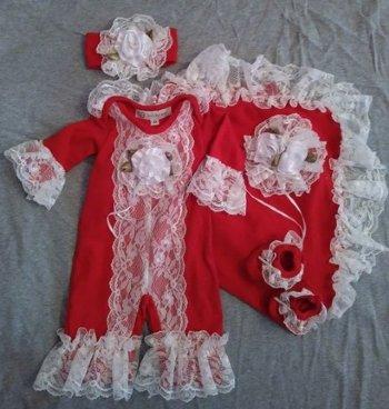 68f31732e95f Children's Christmas Clothing, Girls Christmas Dresses, Personalized ...