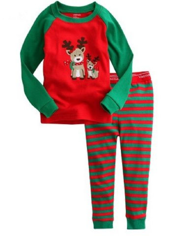 cecfd8398c7c Unisex Christmas Deer Pajama Set BR Now in Stock ...