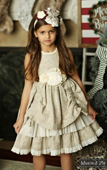 e8315bb14f Mustard Pie 2018 Holiday Emmaline Dress BR 12 Months to 12 Years BR ...
