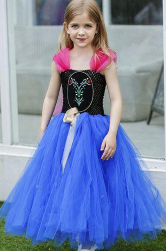 Enchanted Elsa Tutu Dress Preorder