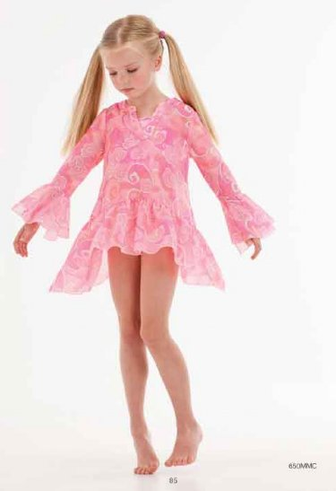 Kate Mack 2018 Tropical Passion Swim Coverup 16 Years Only