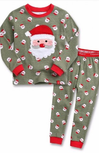 3ee5181550 Children s Santa Pajamas br 2 to 5 Years BR Now ...
