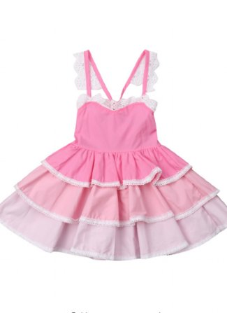 669a778910b Girls Layered Cake Dress Preorder br 6 Months to 4 Years ...