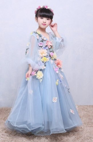 59934d185 Girls Mid Summers Day Portrait Gown Preorder<br>12 Months to 12 Years ...