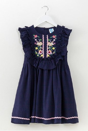 815f544eb Girls Boho Blue Summer Dress Preorder<br>6 to 10 Years ...
