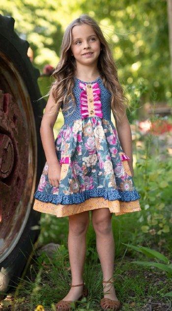 a7b1d964cb Mustard Pie 2019 Resort Maggie Dress BR 4 to 12 Years BR  ...