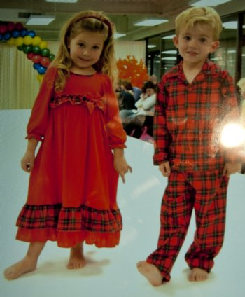 Boys Christmas Button Up Pajamas br Matches Sisters Nightgown! cc639276f