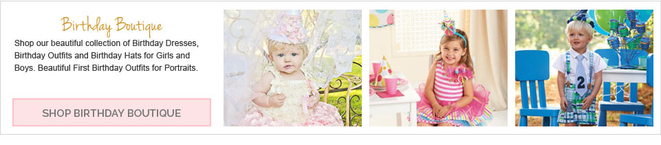 Shop Our Childrens Birthday Boutique