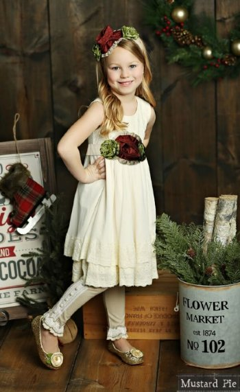 b51a34d78c Mustard Pie 2018 Holiday Mabel Dress BR 4T to 12 Years BR  ...