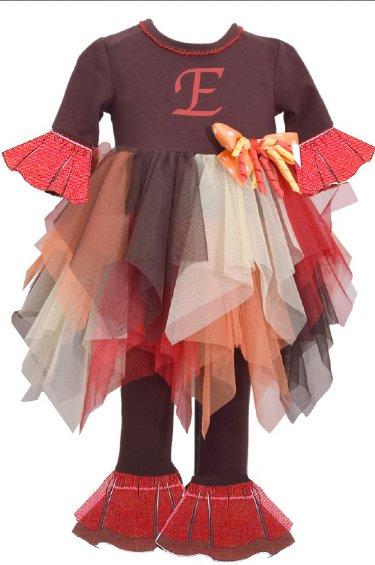 951156981 Children's Fall Clothing, Children's Thanksgiving outfits, Girls ...